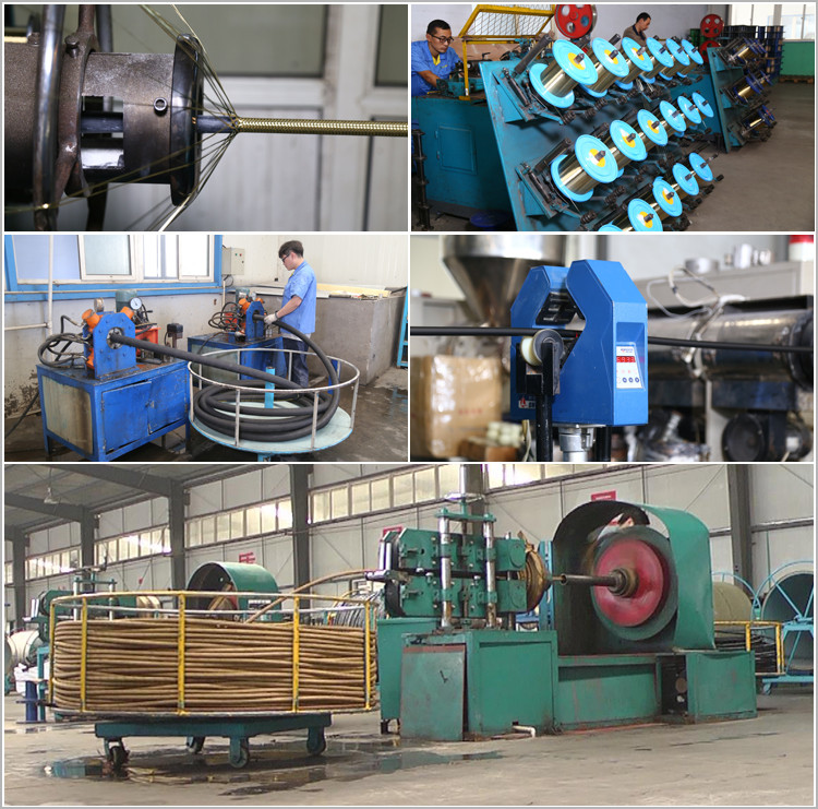 hydraulic hose r1 factory workshop