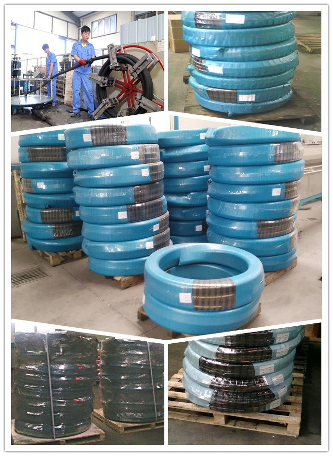 concrete placement hose packaging
