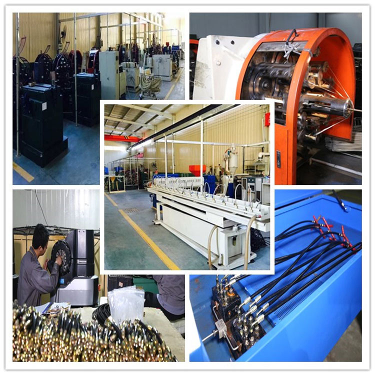Hydraulic Rubber Hose SAE100 R7 factory