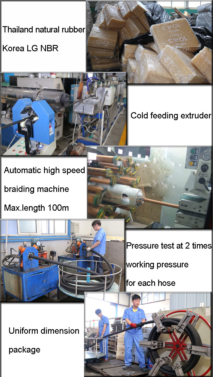 compressed air hose production